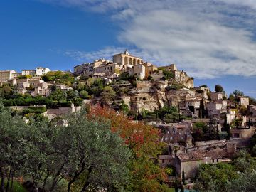 Gordes in the Luberon is just 37 kms away