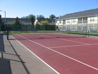 Club Cortile condo photo - tennis court and basketball court at club house