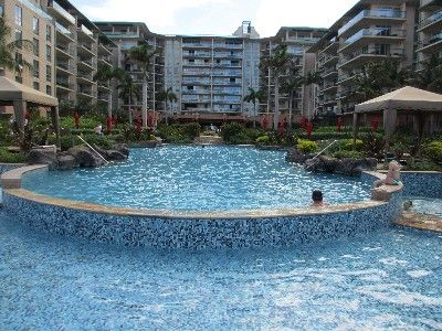 Kaanapali condo rental - Formal Pool-Hokulani-Inner Courtyard