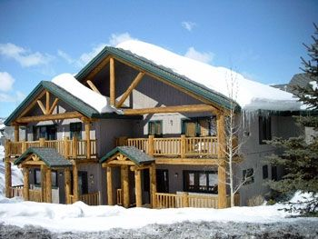 Steamboat Springs condo rental - Exterior View - Saddle Creek Townhomes, Steamboat