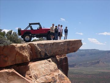 Top of the World Bike/Jeep trail.
