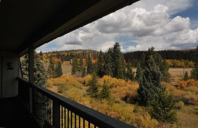 View from Deck with Fall Colors