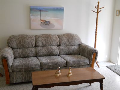 Bradenton Beach apartment rental - A sleeper sofa for the kids