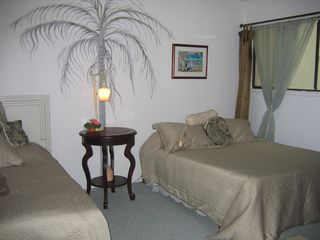 Kailua Kona condo photo - Guest Bedroom with full bath and TV