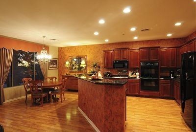Gourmet Kitchen and Dining Nook