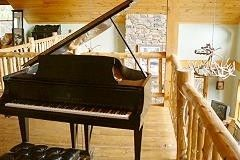 Lake Placid chalet photo - Steinway Grand Piano