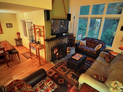 Zig Zag cottage rental - Great Room