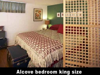 King Bedroom Alcove