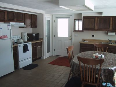 Very spacious kitchen open to Living Room