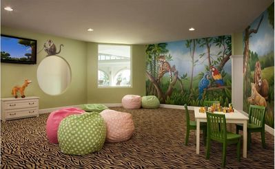 Kid's Klub Jungle Room