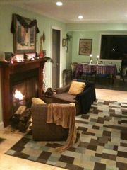 Alburg estate photo - Cozy Wood Burning fireplace.