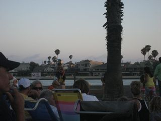 Naples house photo - Summer concerts on the Colonnade green overlooking the bay