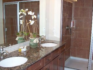Galveston condo photo - Master Bathroom with Oversized Shower