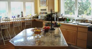 Curlew Lake house photo - gourmet kitchen with a view