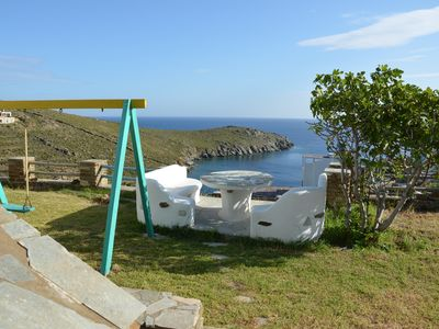 House on the best beach of Tinos.