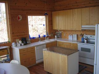 Manistee cottage photo - Fully equipped modern kitchen