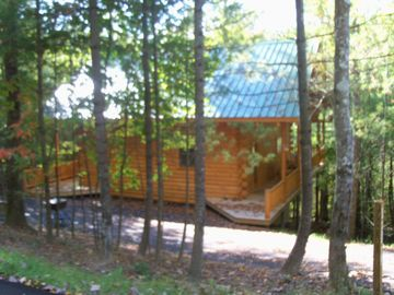 Oneida cabin rental - secluded area