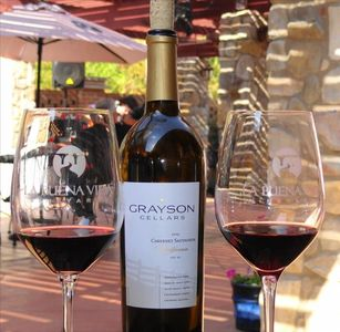 Enjoy wine tastings at the local wineries, live music and great restaurants!