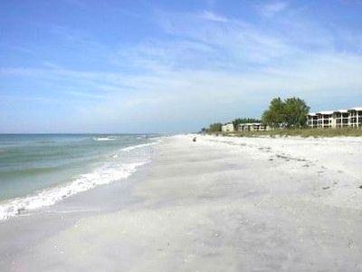 62 Acres of Privately owned White Sandy Beach with free use of Chaise Lounges