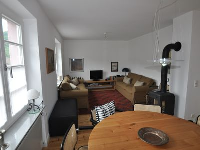 Cochem house rental - Dining and living room