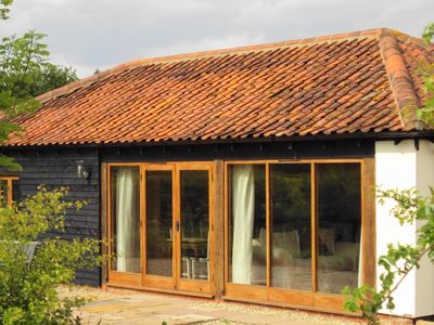 Peaceful, ecofriendly converted barn
