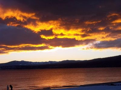 A beautiful Lake Tahoe sunset!