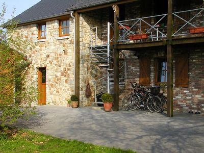 Holiday house with swimming pond and garden nearby Aachen