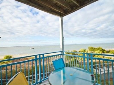 'Beachfront Heaven!'Corner unit with GREAT water , pool, ship and dolphin views!
