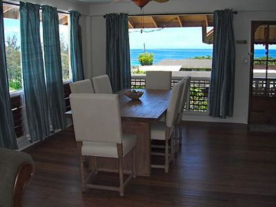 Living and Dinning, upstairs with ocean view