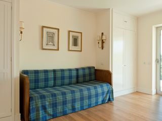 children bedroom with 3 beds (one underneath) - Estoril villa vacation rental photo