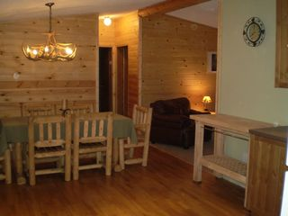 Birchwood cabin photo - Kitchen dining area