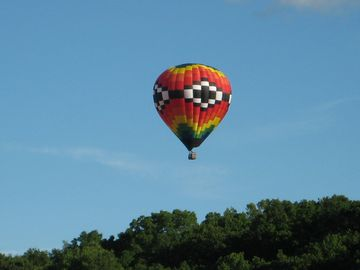 Galena on the Fly! Take a ride or watch from below.