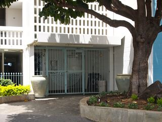 Makaha condo photo - secure building entrance