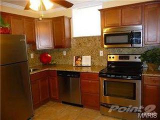 St. Louis apartment photo - Kitchen, featuring granite countertops and stainless steel appliances.