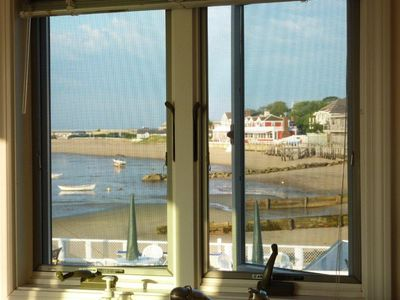 Provincetown condo rental - The view out the kitchen window