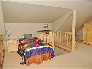 Big Sky townhome photo - Loft Bedroom - Twin