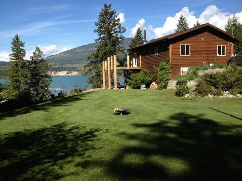 Beach Front Cottage On Columbia Lake 4 Br Vacation