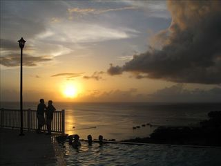 Aguadilla condo photo - Infinity Pool Sunset View - Crash Boats Beach - Aguadilla Bay