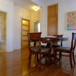 Montreal apartment rental - Dining room