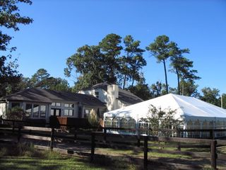 Virginia Beach house photo - Plenty of space for events (60' tent shown) inc. parking for up to 200 guests!