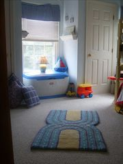Tom Nevers house photo - Children's Room with Nautical Theme & bunk beds