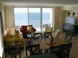 Perdido Key condo photo - Living Area and Lanai