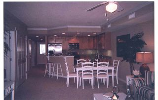 Vacation Homes in Ocean City condo photo - Kitchen and dining area, Seaside Escape, Ocean City, MD