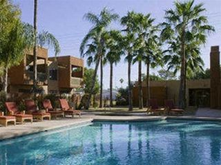 Old Town Scottsdale condo photo - One of two pools, one is just a few feet from the condo.