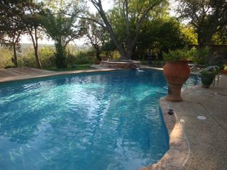 San Antonio house photo - Heated Pool with Diving Board