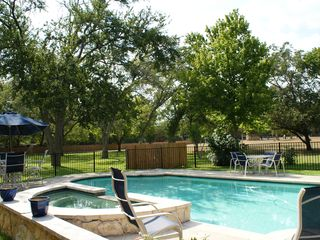 Wimberley property rental photo - Beautiful Pool