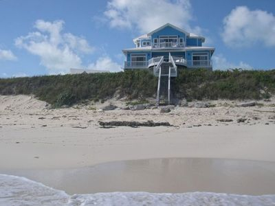 Welcome to Watch Hill on the beach in Guana Cay!
