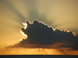Providenciales - Provo apartment photo - Clouds before Sunset!