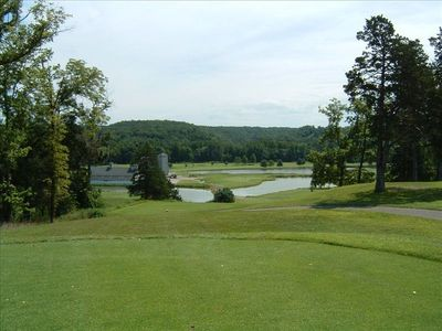 18th Hole at Deer Creek Golf Club - One of 15+ Local Courses