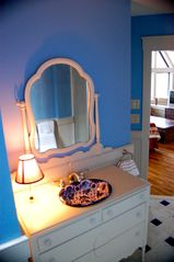 Wintergreen house photo - Blue Bath Vanity Area